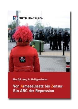 """Broschüre """"Vom Armeeeinsatz bis Zensur. Ein ABC der Repression."""""""