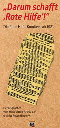 Broschüre 100 Jahre Rote Hilfe Komitees